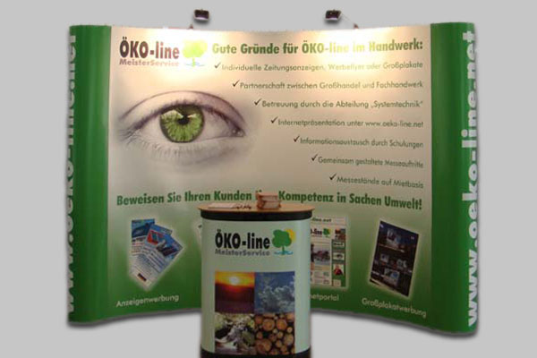 Öko-line Messestand